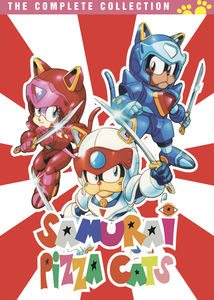 Samurai Pizza Cats: The Complete Series