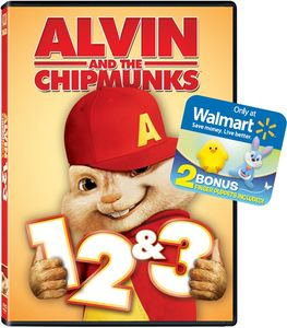 Alvin and the Chipmunks 1, 2 & 3