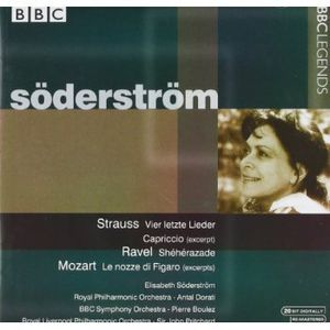 Soderstrom, Elisabeth : Works from Mozart Ravel & Strauss