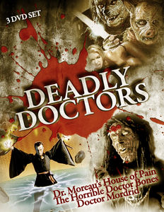 Deadly Doctors: 3 DVD Set
