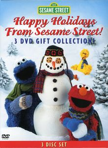 Happy Holidays From Sesame Street [3 Discs] [Gift Set] [Digipak]