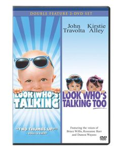 Look Who's Talking/ Look Who's Talking Too [Double Feature] [2 Discs]