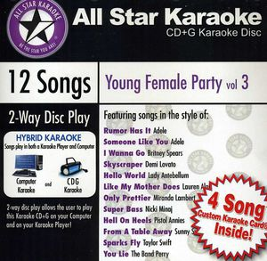 Karaoke: Young Female Party /  Various