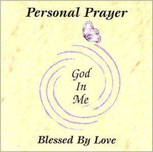 Personal Prayer-God in Me