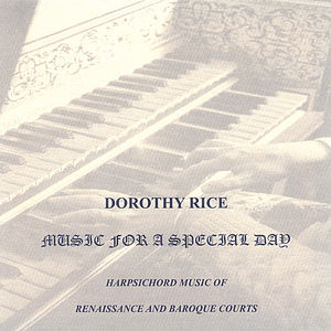 Music for a Special Day: Harpsichord Music of Rena
