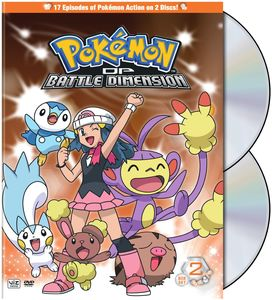 Pokemon: Diamond and Pearl Battle Dimension Box 2 [Full Frame] [2 Discs]
