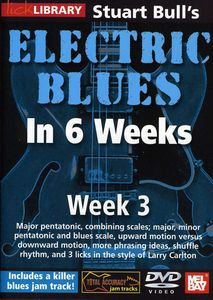 Electric Blues in 6 Weeks for Guitar: Week 3