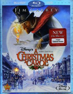 Disney's A Christmas Carol [WS] [O-Sleeve] [2-Disc Blu-ray/ DVD Combo]