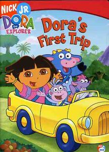 Dora The Explorer: Dora's First Trip [Full Screen] [Animated]