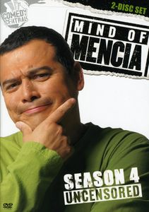 Mind Of Mencia: Uncensored Season 4 [Full Frame] [2 Discs] [Slim Packs] [Slipcase]