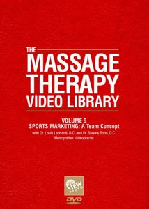 Massage Therapy Video Library - Sports Marketing: Team Concept, Vol. 9