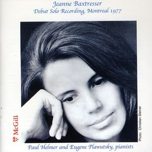 Jeanne Baxtresser Debut Solo Recording Montreal 19