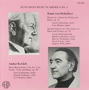 Hungarian Music in Amrica
