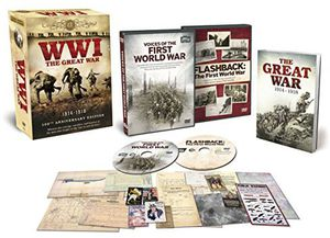 Wwi The Great War: 100Th Anniversary Memorabilia Set