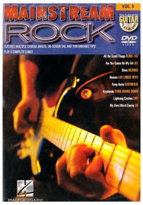 Guitar Play Along: Mainstream Rock 5