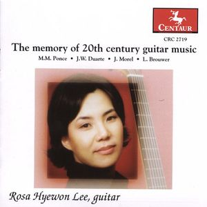 Memory of 20th Century Guitar Music
