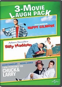3-Movie Laugh Pack: Happy Gilmore /  Billy Madison