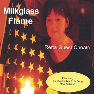 Milkglass Flame