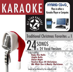 Karaoke: Traditional Christmas Favorites, Vol. 1