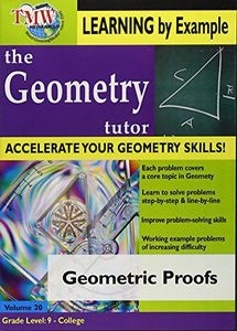 Geometric Proofs: Geometry Tutor