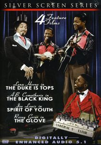 4 Feature Films: Duke Is Tops Black King Spirit of