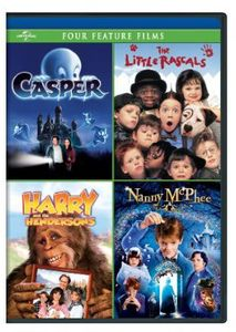 Casper /  The Little Rascals /  Harry and the Hendersons /  Nanny McPhee