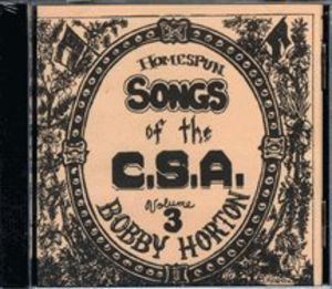 Homespun Songs of C.S.A. 3