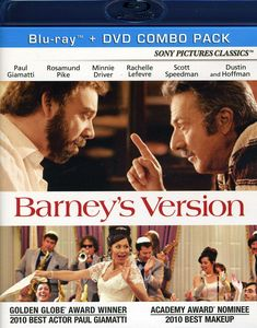 Barney's Version [Widescreen] [Blu-ray/ DVD Combo] [2 Discs]
