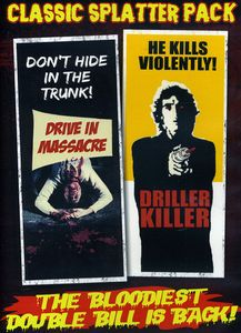 Classic Splatter Pack: Drive-in Massacre/ The Driller Killer