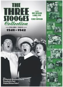 The Three Stooges Collection: Volume 3: 1940-1942