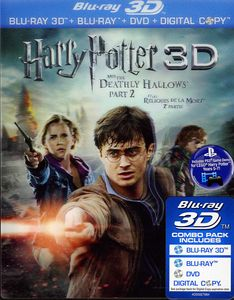 Harry Potter & the Deathly Hallows Part 2 3D