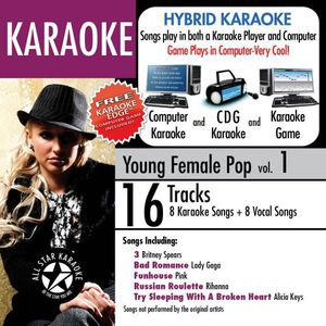 Karaoke: Young Female Pop, Vol. 1