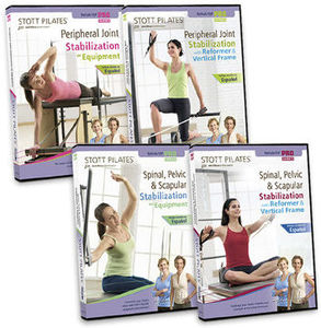 Stott Pilates: Isp/ Rehab Series (4 Dvds)
