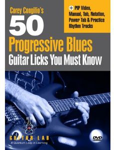 50 Progressive Blues Licks You Must Know