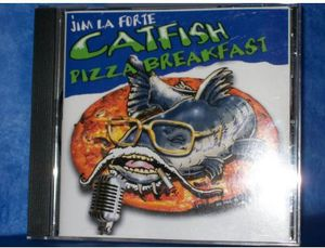 Catfish Pizza Breakfast