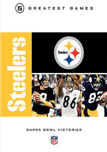 NFL Greatest Games Series: Pittsburgh Steelers Super Bowls [Standard][5 Discs]