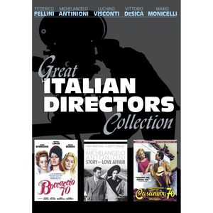 Great Italian Directors Collection