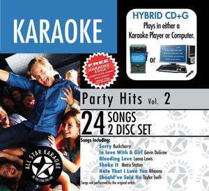Karaoke: Party Hits /  Various