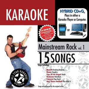 Karaoke: Mainstream Rock, Vol. 1