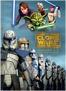 Star Wars: Clone Wars - Season 1-5 Collectors Edition