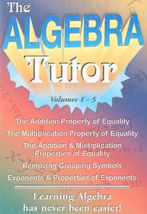 Algebra Tutor Series, Vol. 1-5