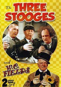 Three Stooges and WC Fields [2 Discs] [B&W]