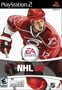 NHL 08 for PlayStation 2