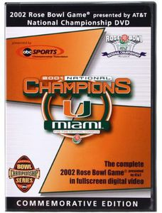 Miami Hurricanes: 2002 Rose Bowl