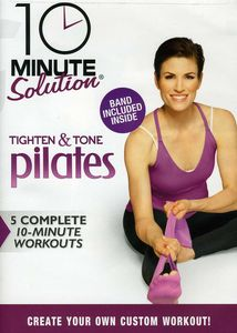 10 Ms: Tighten and Tone Pilates W/ Band