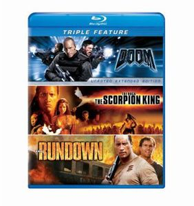 Doom/ The Scorpion King/ The Rundown
