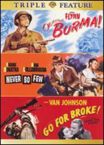 Objective, Burma!/ Never So Few/ Go For Broke [2 Discs] [Triple Feature][Double Amaray Case]