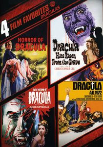 4 Film Favorites: Draculas [2 Discs]