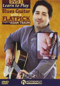 Learn To Play Blues Guitar With A Flatpick, Vol. 1 and 2