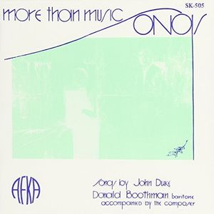 More Than Music: Song By John Duke